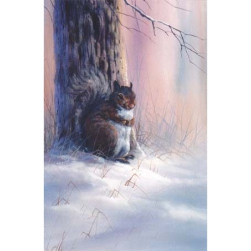 8995 WINTER SQUIRREL